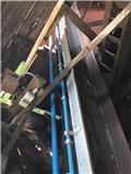 Sparman Gummibandstransportör 14m, Avlastningsbord, vifter og heiser