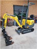 Wacker Neuson 803, 2017, Mini excavators < 7t (Mini diggers)