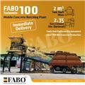 TURBOMIX-100 Mobile Concrete Batching Plant, 2021, Beton santralleri