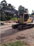 Volvo EC 140 B LC, 2012, Excavadoras sobre orugas