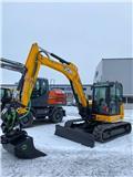 JCB 86C, 2020, Mini excavators  7t - 12t