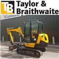 JCB 8026 CTS, 2014, Mini excavators < 7t (Penggali mini)