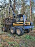 Ponsse Wisent 8W, 2008, Forwarder