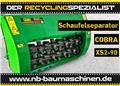 Cobra XS 2-90 | Schaufelseparator | Siebschaufel | Miete, 2021, Screening buckets