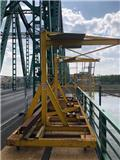 Pomost Roboczy Podchodnikowy, 2018, Telai in acciaio
