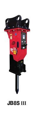 Jabco Hydraulikhammer JAB JB 8, neu mit Garantie, 2021, Hydraulic pile hammers