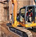 CASE CX 80 C, 2016, Excavadoras sobre orugas