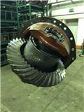 Liebherr 580 axles parts deferential, Nápravy