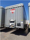 Krone Curtainsider Standard, 2014, Curtain  trailers