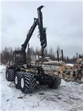 Ponsse Buffalo 8W, 2007, Forwarder
