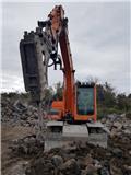 Doosan DX 140 W, 2012, Wheeled excavators