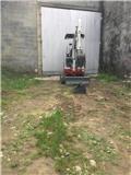 Takeuchi TB016, 2013, Mini excavadoras < 7t