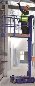 Power Towers Nano SP personlift 4,5 m arb. høyde، 2018، رافعات السارية الرأسية