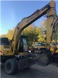 New Holland EW 160, 2005, Wheeled excavators