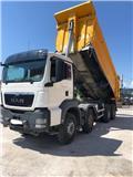 MAN 41.480 8x4, 2013, Dump Trucks