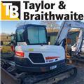 Bobcat E 85, 2014, Midi excavators  7t - 12t
