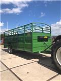 Devos agri Dierenwagen 6m, 2020, Animal transport trailers