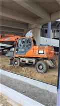Doosan DX 210 W, 2014, Wheeled Excavators