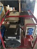 Poweri 7/10H 10 kVA / 6,4 kW 230/400V, Benzingeneratorer