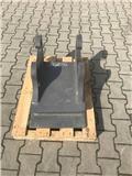 Mecalac NEU Hammeranbauplatte für Connect Schnellwechsler, Conectores