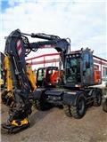 Atlas 160 W, 2014, Excavadoras de ruedas