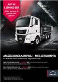 MAN TGX 500.8x4-4 & 6x4 BL Meiller KAMPANJ, 2019, Lastbiler med tip