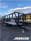 Palmse Balvagn B3800 12 Ton Kampanj, 2020, Mga Bale trailer