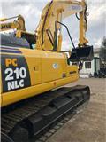Komatsu PC 210 N LC-8, 2007, Crawler excavators