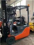 Toyota 8 FB ET 15, 2014, Electric Forklifts