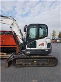 Bobcat E 85, 2015, Midi excavators  7t - 12t