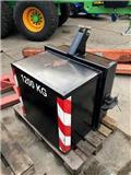 Gewichtblok 1200 KG Beton, Traktoren