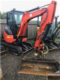 Kubota U 25, 2013, Mini excavators < 7t (Mini diggers)