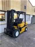 Yale GDP35VX, 2012, Diesel Forklifts