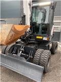 Bobcat E 57 W, 2016, Wheeled excavators