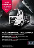 MAN MAN TGX 500 8x4-4 KAMPANJ Meiller tipp, 2019, Lastbiler med tip