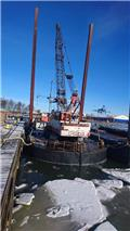 Grab Dredger Poclain 25.04, Work Boats/Barges