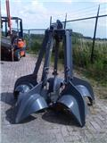 Peiner Dragline 5 tyne orange peel grapple, 1990, Kran deler og utstyr