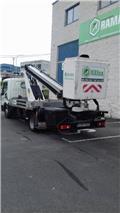 Movex P150TLR, 2014, Plataformas sobre camión