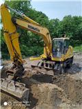 Komatsu PW160-7, 2006, Wheeled Excavators