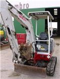 Takeuchi TB016, 2007, Mini excavators < 7t (Mini diggers)