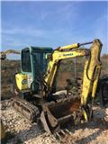 Yanmar B 25 V, 2011, Mini excavators < 7t (Mini diggers)