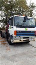 DAF PORTEUR BRAS GRUE MULTIBENNE AG75NSL4, 1995, Autre camion