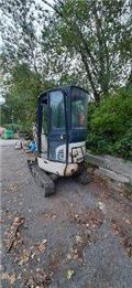 Komatsu PC16R-3HS, Mini Excavators <7t (Mini Diggers)