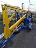 NC RT13000, Pacēlājplatformas - piekabes