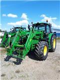 John Deere 6115 M, 2015, Traktorok