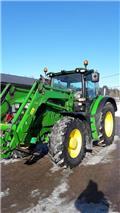 John Deere 6150 R, 2013, Traktorit