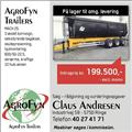 Agrofyn Trailers MACH 25 3 akslet kornvogn - TIL O, Remolques con caja de volteo