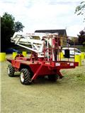 Pegasus AT46, 1989, Articulated boom lifts