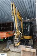 Caterpillar 305.5, 2014, Midi excavators  7t - 12t