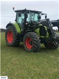 CLAAS Arion 4x4 Tractor with front loader، 2017، الجرارات